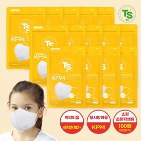 TS가드블라블라황사방역마스크KF94 (5매씩) 100매, TS마스크, 초등학생용